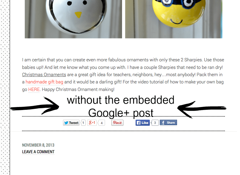 embed google post