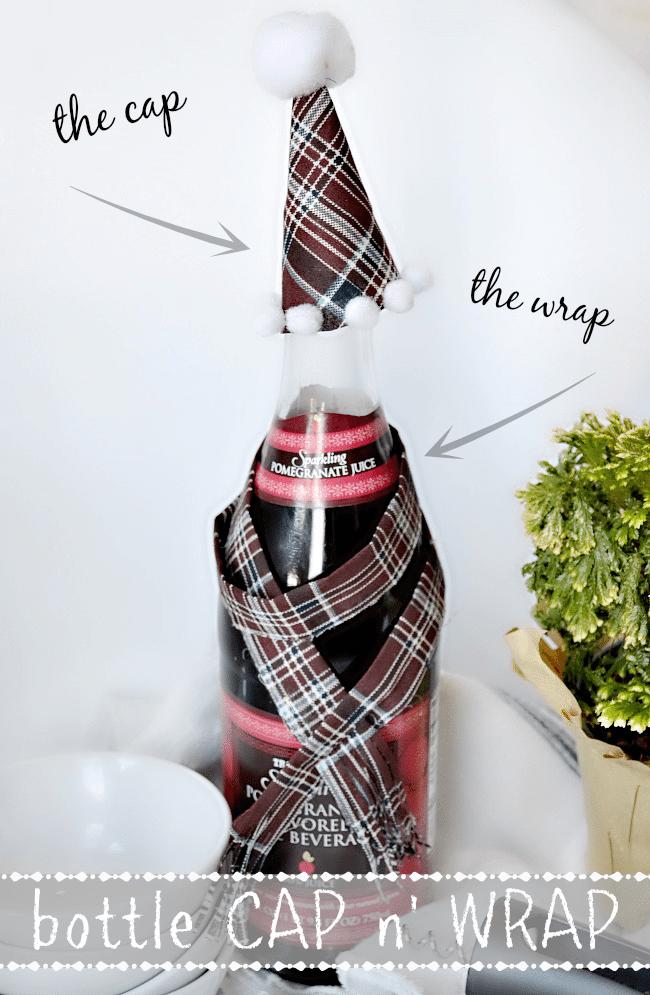bottle cap n' wrap tutorial. A cute, quick gift idea!