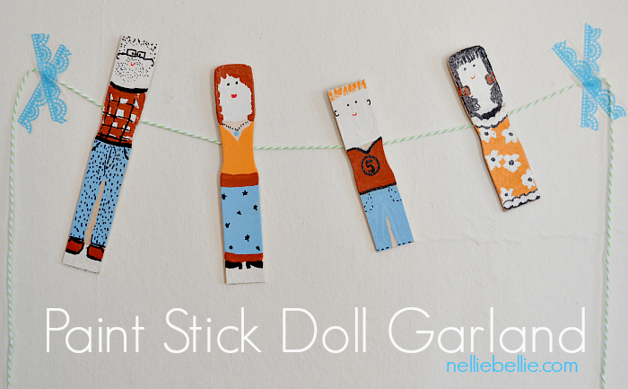 Paint Stick Dolls. How sweet and easy!