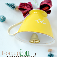 Easy teacup ornament