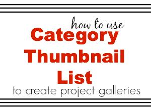 category thumbnail list.