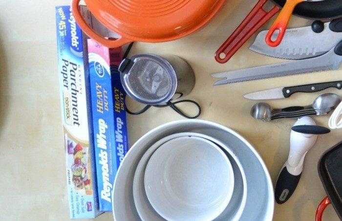grinder & paper kitchen essentials