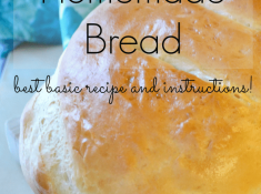 These tips and tricks for making homemade bread will give you the confidence to try your first few batches and realize how easy and fun it can be!