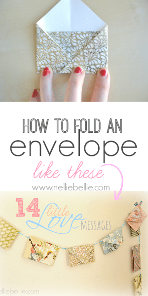 how to fold an envelope; an easy tutorial. Using this tutorial, you can make envelopes with all your favorite papers.