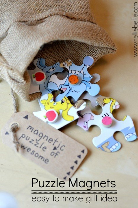 A quick & easy tutorial for making puzzle magnets. A great way to repurpose an unused puzzle!