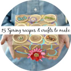 spring recipes & crafts