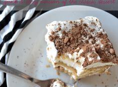 This easy tiramisu cake recipe is absolutely delicious, and doesn't have tons of complicated and annoying steps. Make something delicious, not hard.