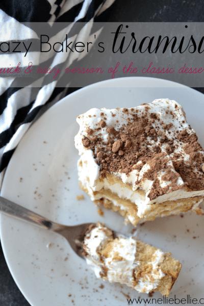 semi-homemade Tiramisu cake recipe
