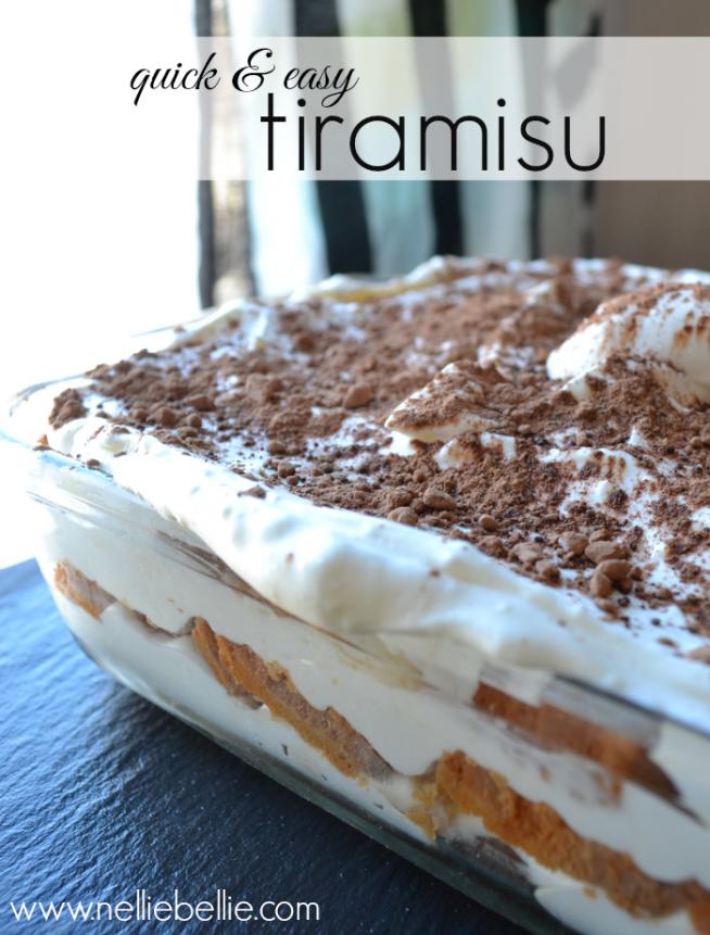 easy Tiramisu recipe (made with Gourmet Coffee!)