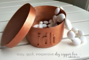 Copper Boxes that are easy to make and really inexpensive from nelliebellie.com