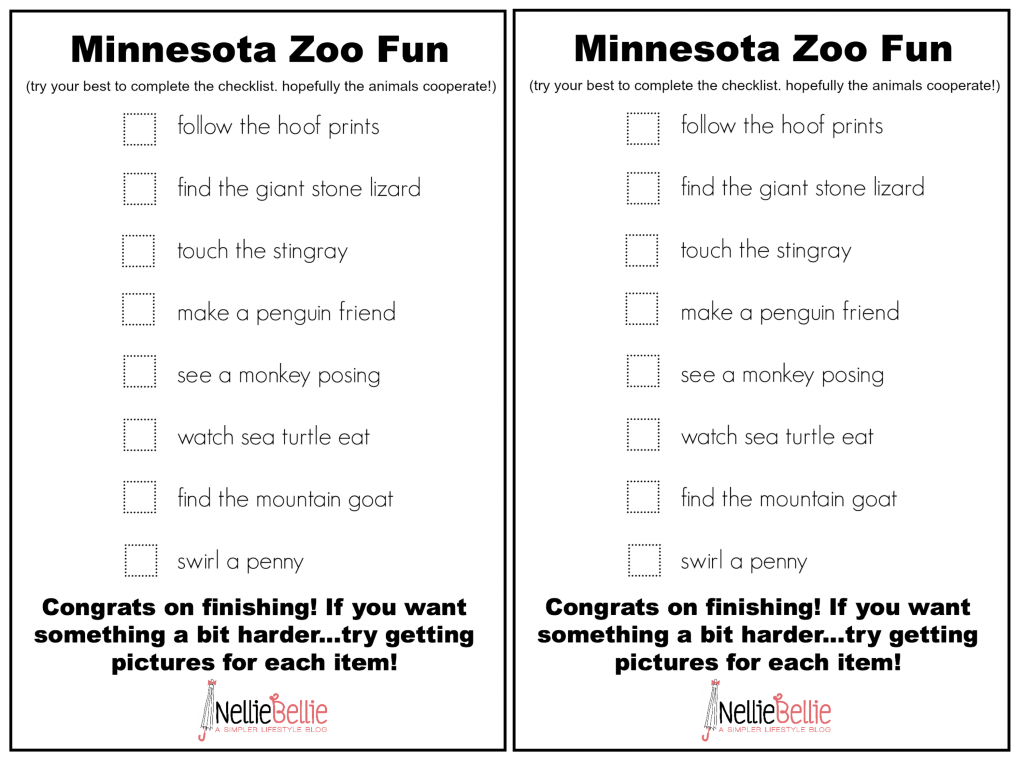 MN Zoo Printable from nelliebellie.com