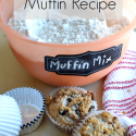 Homemade muffin mix is simple and makes muffin making easier! 5 muffin recipes.