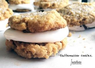 Fluffernutter cookies from nelliebellie.com