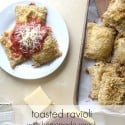 Toasted Ravioli from nelliebellie.com