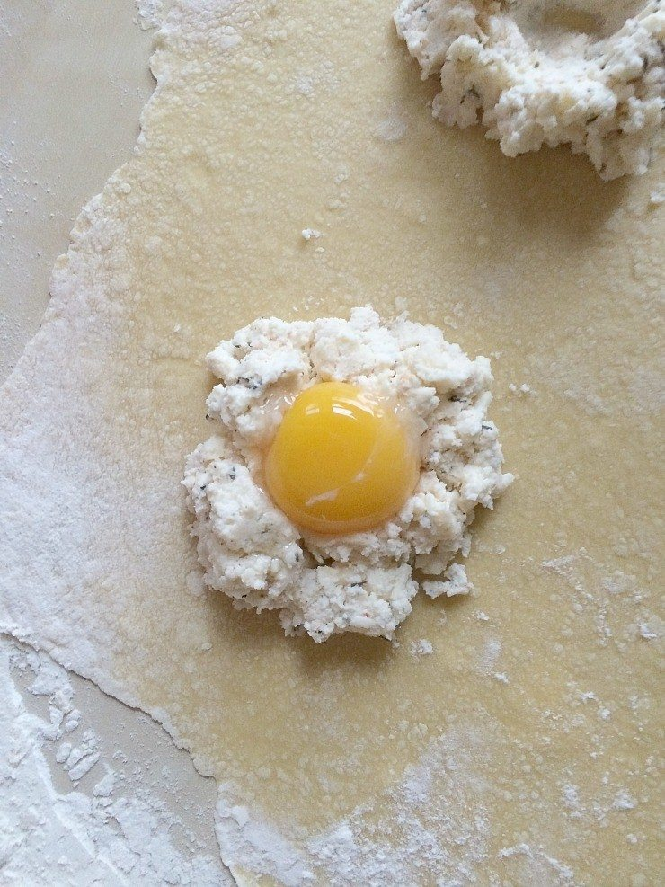 Making pasta, in this case raviolo, isn't necessarily about the pasta.  It's the fun had in the process.