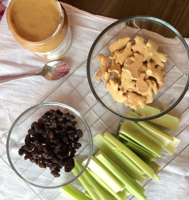 celery train ingredients