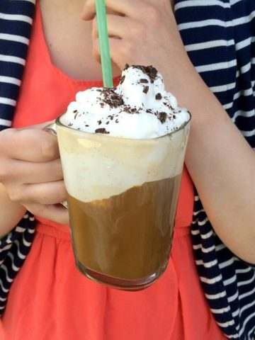 The Germans got it right when they created Eiskaffee, an incredible ice cream coffee drink. Win!