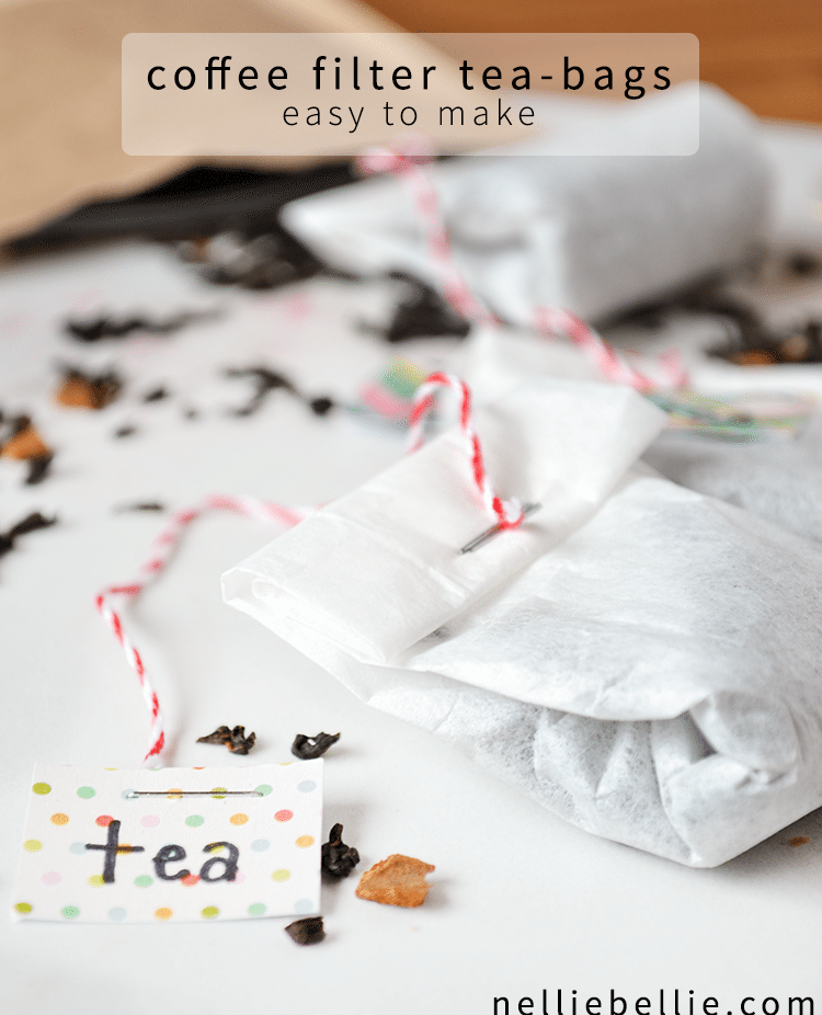 Diy tea bags from coffee filters in only a couple steps. Use this easy to follow tutorial to make homemade tea bags. Video tutorial included
