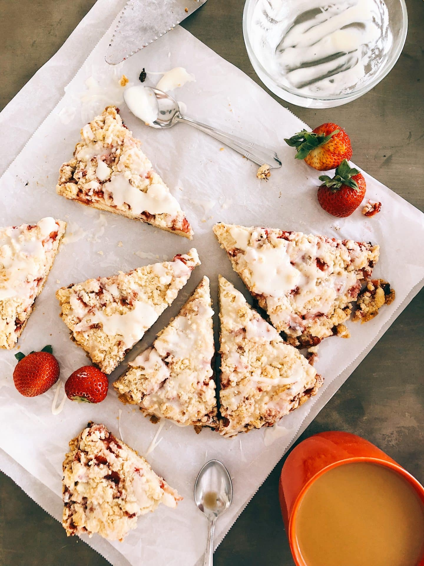Strawberries and Cream Scone recipe