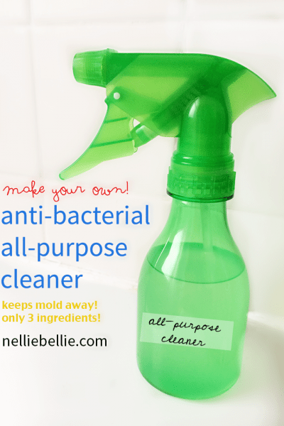 Homemade anti-bacterial cleaner