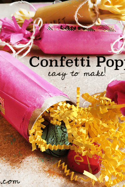 How to make confetti poppers (with video tutorial)
