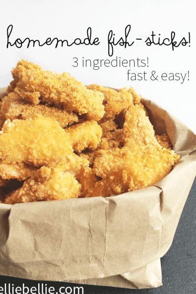 Homemade Fish sticks recipe