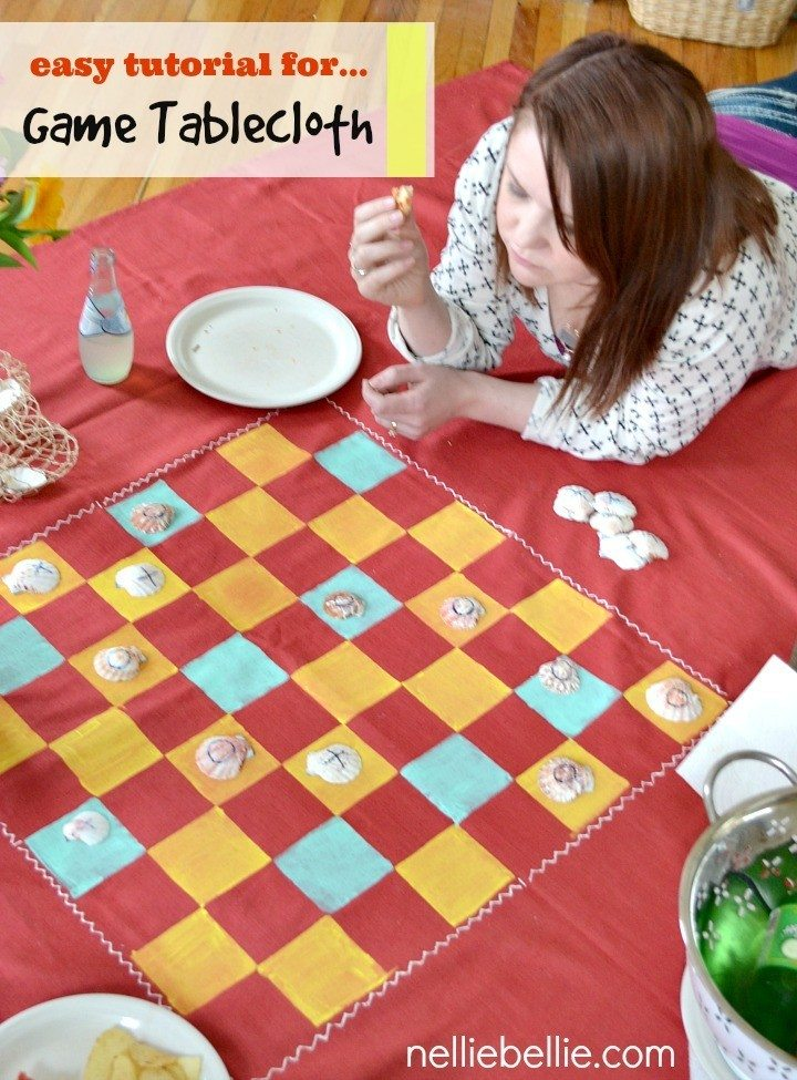 Picnic Blanket Game Board, a nelliebellie tutorial