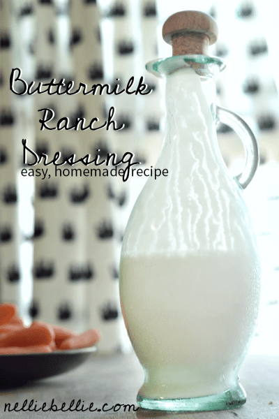 homemade ranch dressing with greek yogurt