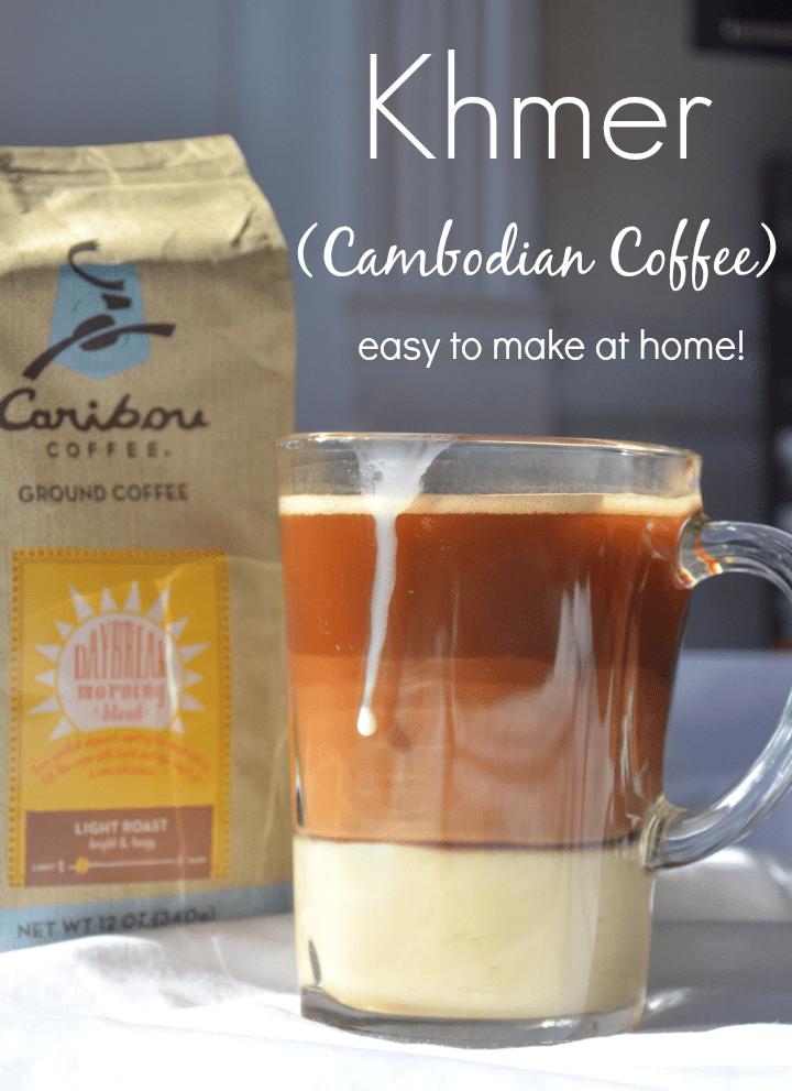 Cambodian coffee recipe (Khmer)