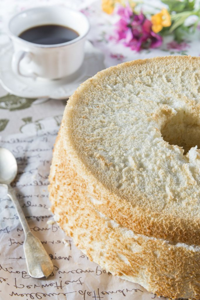 simple homemade angel food cake recipe