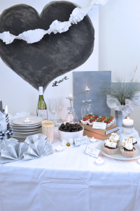 Hosting a 50 shades of grey party is a great adult option that is unexpected and a ton of fun. #party #parties #50shadesofgrey