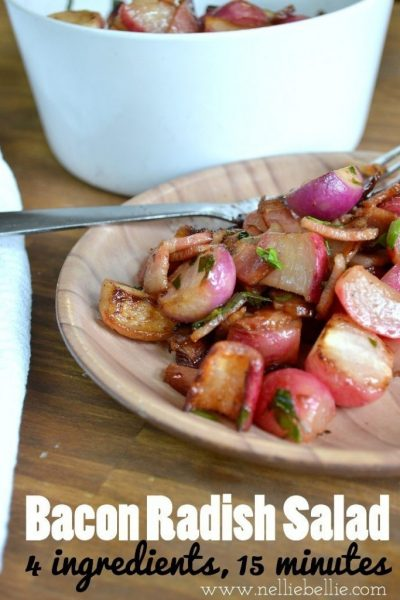 Bacon Radish Salad Recipe