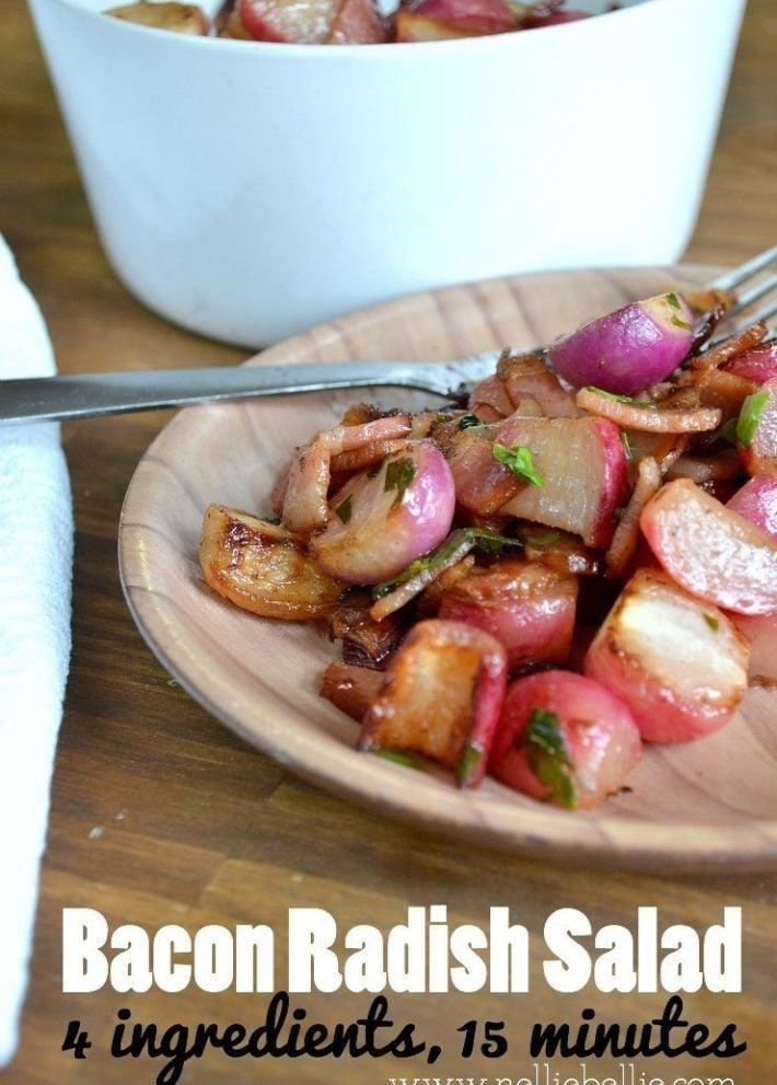 Bacon Radish Salad Recipe