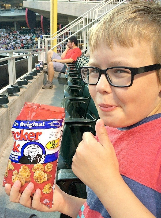 Target Field Twins Game: Fun for any age! #Twins #minnesota #TargetField #baseball