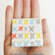 Matchbook Notebooks are adorable and easy to make with this trick from www.nelliebellie.com #tutorial #craft #matchboxnotebooks #gift