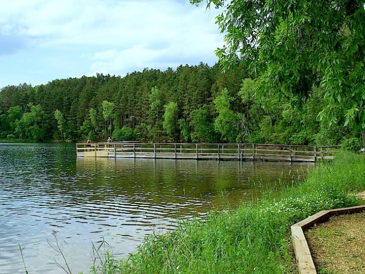Square Lake Beach and Park in Minnesota is a wonderful spot for swimming and having a fun time! #onlyinMN #beach #Minnesota #TwinCities