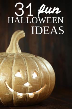 31 fun Halloween ideas. #halloween #crafts