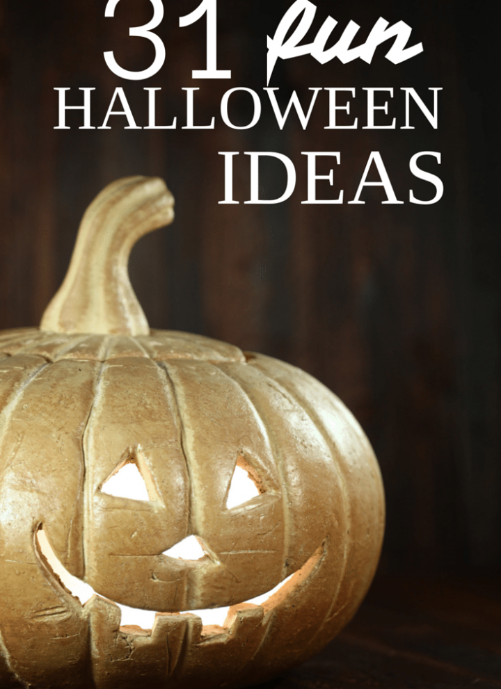 31 fun Halloween ideas!