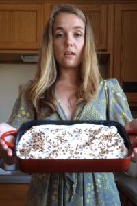Pumpkin Better than Sex Cake video tutorial