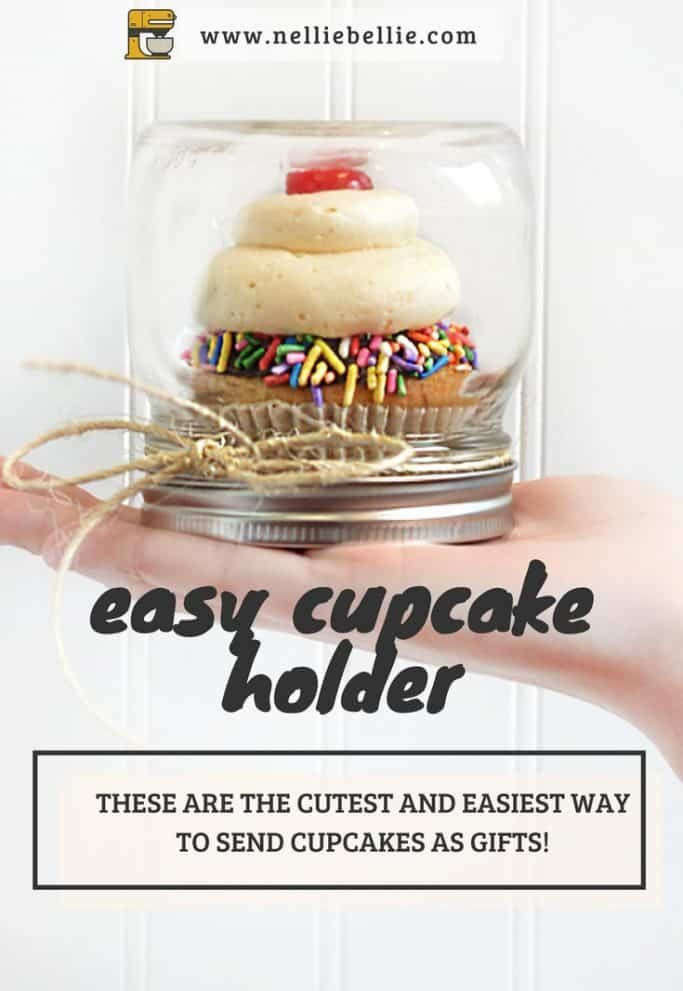the easiest individual cupcake carriers!