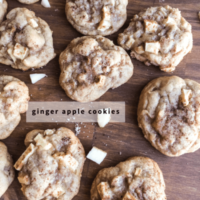 Ginger Apple Cookie