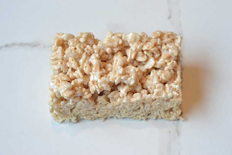 make a car out of rice krispie treats!