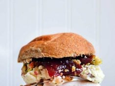 Thanksgiving Sandwich. A tasty way to eat the holiday favorites all year long!