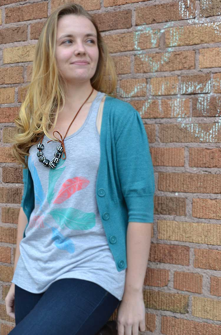 make your own tribal beads. Easy! | www.nelliebellie.com
