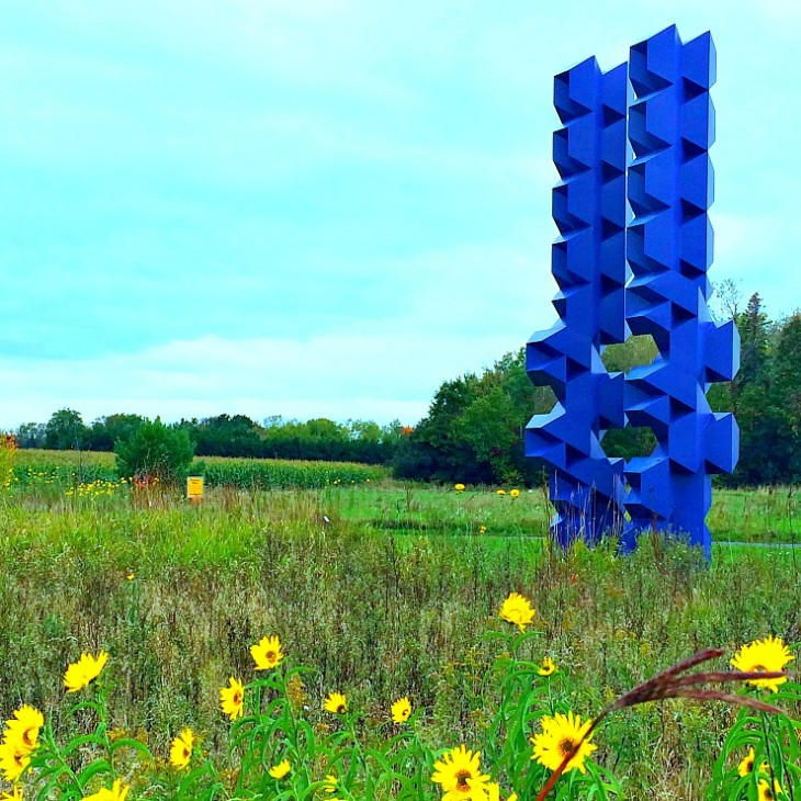 Franconia sculpture garden | outdoor art in Minnesota  #sculptures #Minnesota