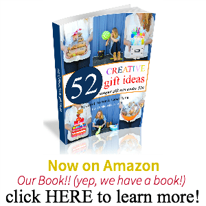 We Wrote A Book!  | Creative Gift Ideas: 52 Unique Gift Sets for Under $20.00