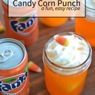 Candy Corn Punch | Halloween snacks