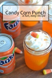 candy corn punch recipe | nelliebellie.com |#beverages #halloween #punch #SpookySnacks #CollectiveBias