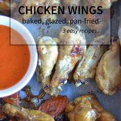 Three easy, fast ways to make chicken wings that you'll use again and again!   nelliebellie.com   #recipes #chicken #wings