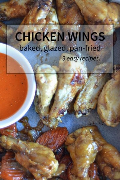 three classic chicken wing recipes